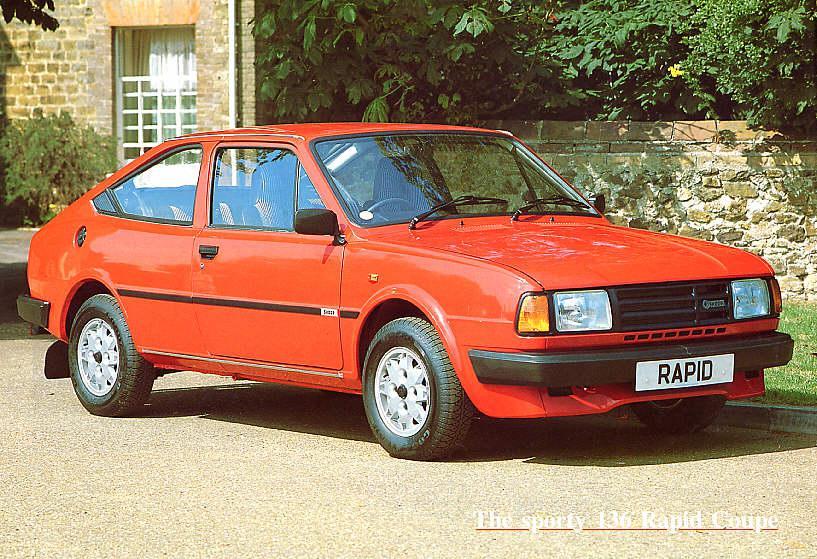 1988 Škoda Rapid 136