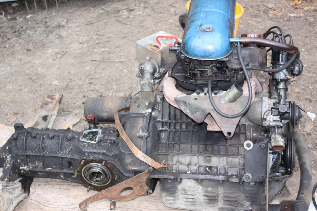 Skoda 120 Favorit motor